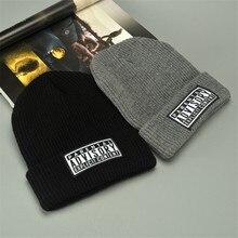 Letter Design 2 Colors Casual Hats for Men Women Fashionable Knitted Winter Hat Solid Cotton Hat Hip Hop Hat Hood Unisex Cap NEW fashionable solid color double deck pu cabbie hat for men