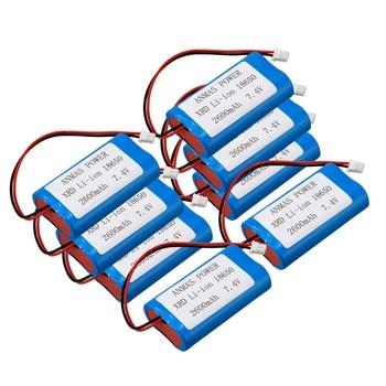 8 pack 7.4V XRD Li-ion 18650 2600MA Battery Pack speaker amplifiers battery Digital /PowerBank Rechargeable battery pack