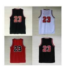145c842491d Envío Gratis venta superior Jersey baloncesto 23 camiseta Jordan basketball  Jersey barato MESH rojo blanco negro tipo Jordan Jer.