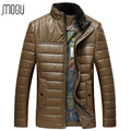 2016 leather jacket men Plus Size M-3XL Winter mens leather jacket 8X16