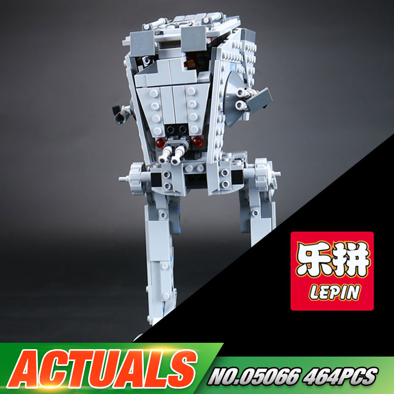 Lepin 05066 Star Series War 464Pcs The 75153 Rogue Set One AT Model ST Toys Walker Set Building Blocks Bricks Kids Toys Gift конструктор lepin star plan разведывательный транспортный шагоход at st 458 дет 05066