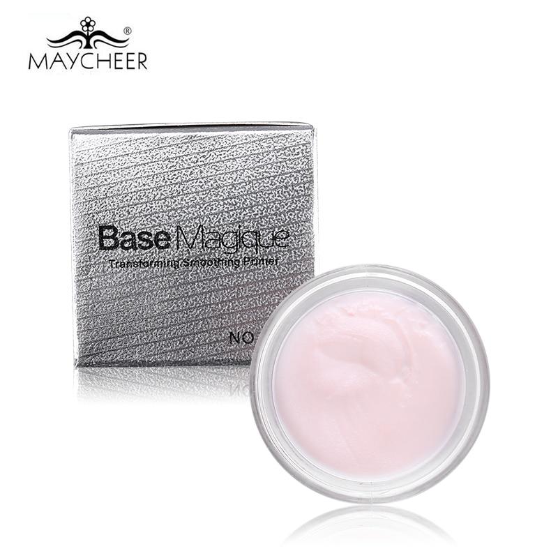 Brand New MAYCHEER transformujący wygładzający baza do twarzy korektor baza makijaż pokrywa porów zmarszczek trwały korektor podkład baza 3