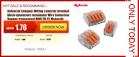 makerele тип РСТ-212 213 215 20 штук 2 п + 3 п 20 штук + 20 штук 5 р универсальный компактный провода разъем Driver клм блок