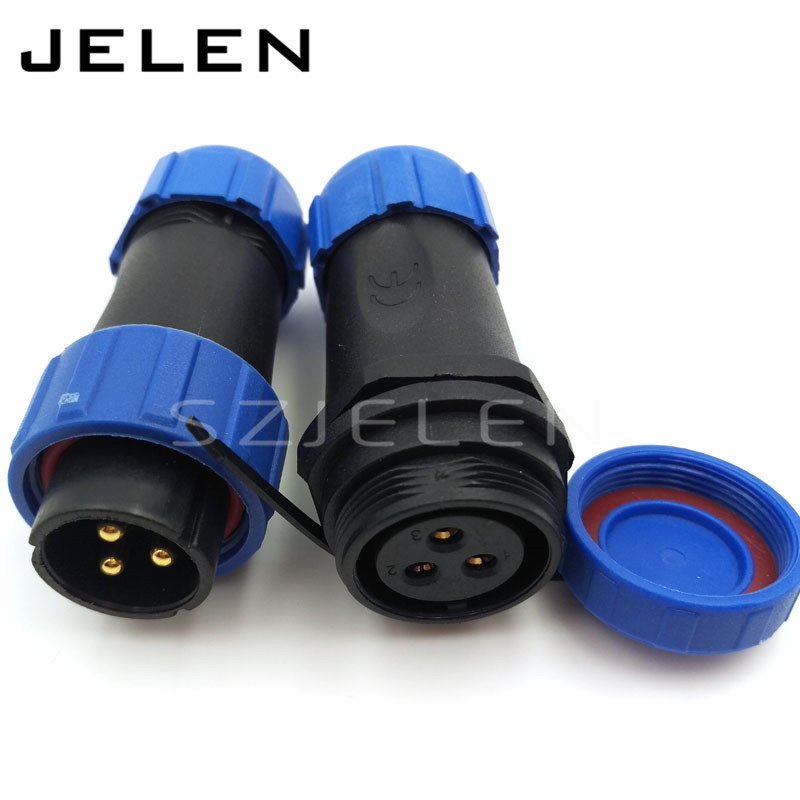 Aliexpress Com Buy Sp2110 Waterproof 3pin Connector