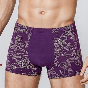 Image 5 - 2020 גדול גודל של גברים בוקסר מכנסיים סקסי Mens כותנה תחתונים XXL ~ 7XL
