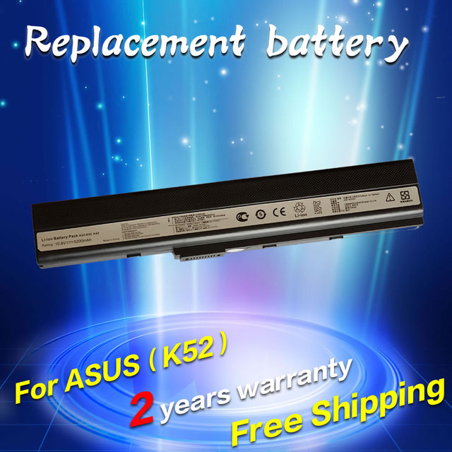 Jigu batería para asus x52d x52de x52dr x52f x52j x52jb x52jc x52je x52jg x52jk x52jr x52n a32-k52 a32-k42