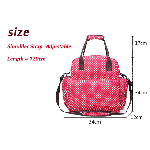 2015 outdoor latest super capacity shoulders diaper bag from mother to child bag, mom
