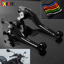 For Yamaha WR250R SEROW225 250 TTR250 XT250X TRICKER Motocross CNC Pivot Racing Dirt Bike Clutch Brake Levers 7 Colors free shipping ed skid plate guard fit for yamaha xg250 tricker xt250x serow250