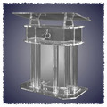 Hot selling/Acrylic Lectern with stands Pulpit Podium Costrum Cattedra church pulpit