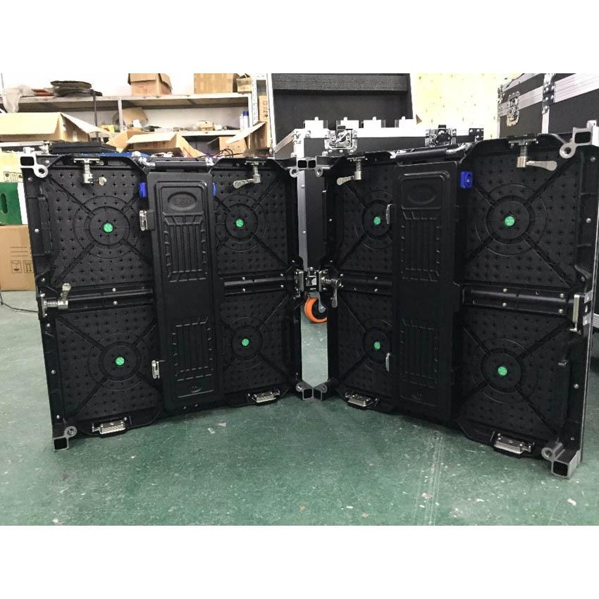 Écran LED d'intérieur 500 × 500mm Cabinet en aluminium de moulage mécanique sous pression 104*104 pixels P4.81 SMD2121 écran rgb LED pour la publicité d'étape