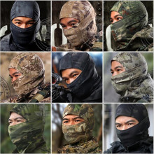 CS Force Tight Balaclava Face Masks Tactical Airsoft Hunting Outdoor Paintball Moto Motorcycle Skycling از ماسک صورت کامل محافظت می کند