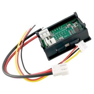 Image 4 - Ledアンプデュアルデジタル電圧計ゲージ 0.28 dc 0 100v 0 10Aデジタル電圧計電流計テスターvoltimetro ledデュアルディスプレイ