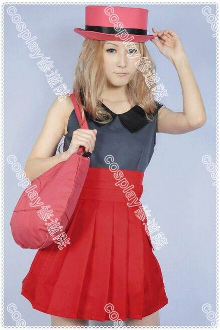 Pokemon X and Y Pocket Monster Serena Cosplay costume Anime custom any size
