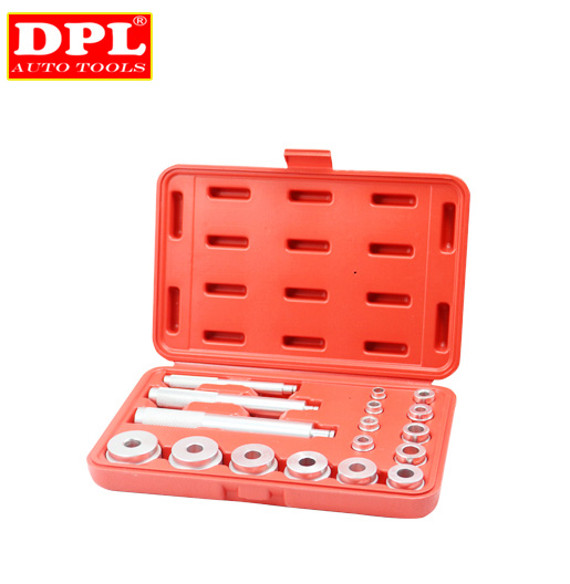 17PCS Bearing Race And Seal Drivers Removal Tool Set 10pc bearing race seal driver tool master set with storage case wheel axle new