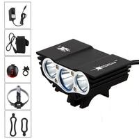 SolarStorm 6000Lm LED Bike Flashlight 3x XM L L2 Cycling Bicycle Lantern Light Torch Accessories For