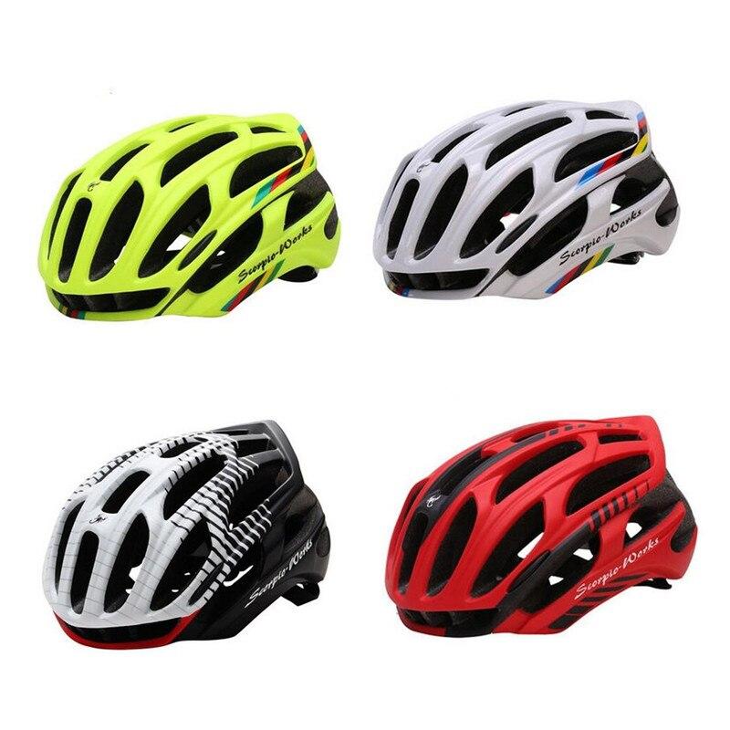 Casco Ciclismo Mtb Bike Cycling Helmet ML Led Warning light Bicycle Helmet Cycling Capacete De Ciclismo Casco Bicicleta Casque