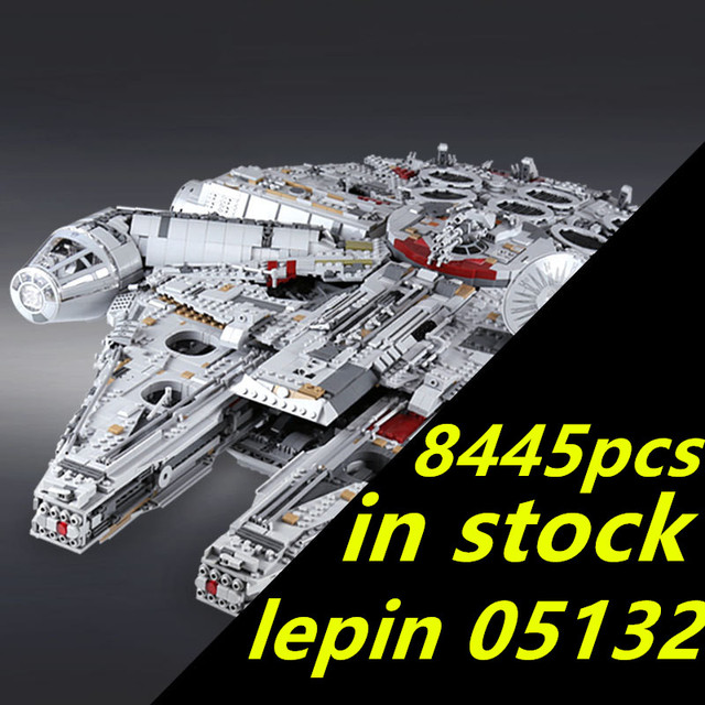 lepin star wars millennium falcon 05132  millenium falcon Ultimate Collector's Destroyer Wars compatible legoing STAR WARS 75192