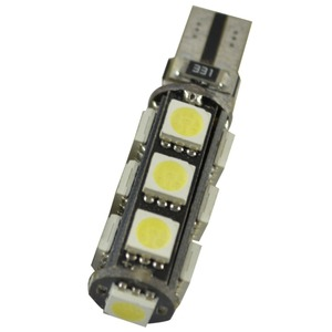 Image 4 - 10 stks W5W T10 13 SMD 5050 Led Canbus Auto auto Kentekenplaatverlichting Reserve Licht Dome Gloeilampen 12 V wit