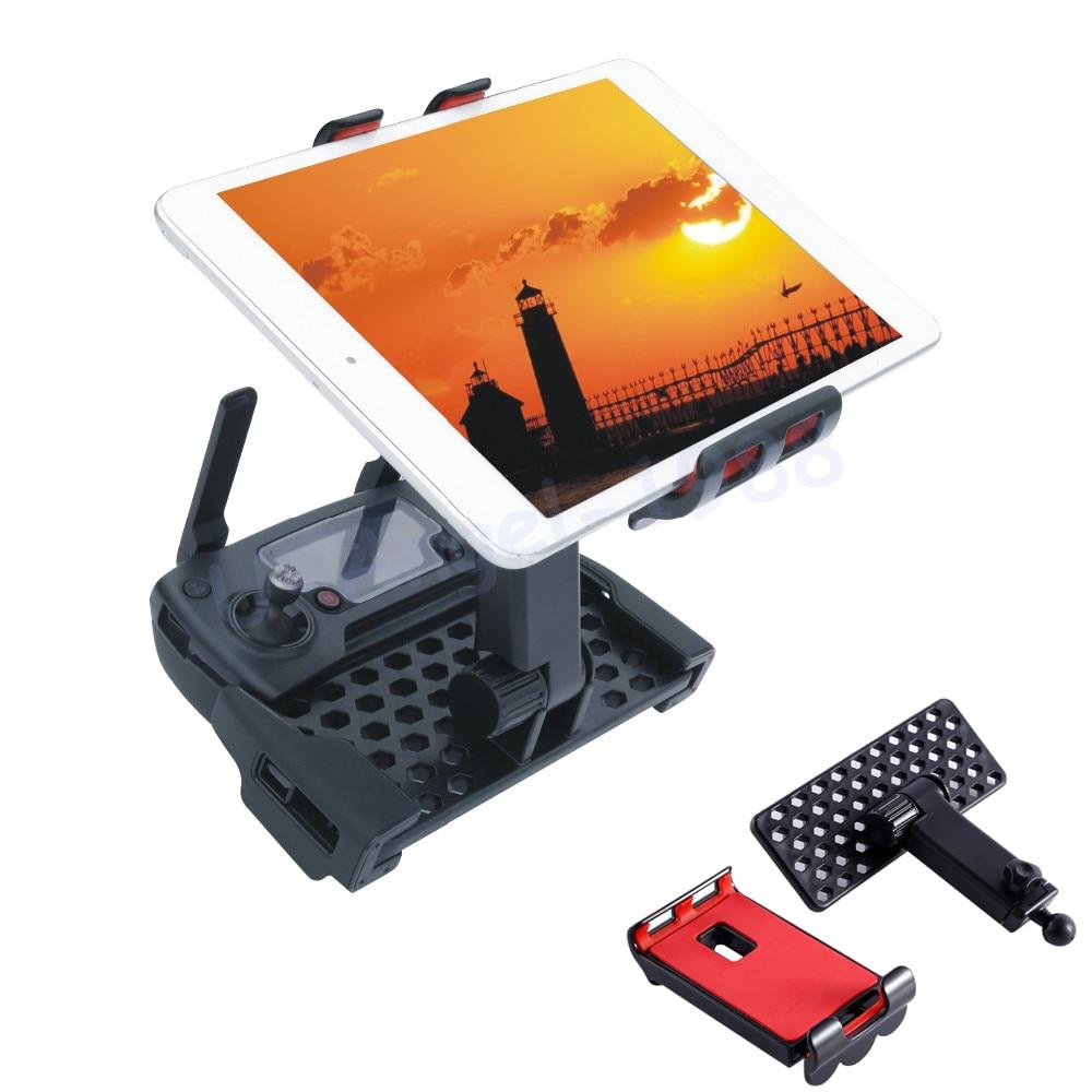 1set Phone/Tablet width 120-190mm Holder Remote Controller Bracket 360 Rotatable Adjustable For Mavic Pro Accessories Bracket St