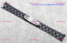 Free Shipping 1pcs Brand New 19mm Black Ceramic Strap Band Belt Bracelet for J12 Repair