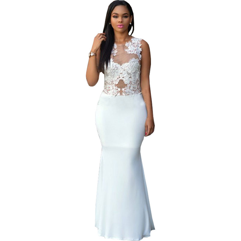 Online Get Cheap Sheer White Maxi Dress -Aliexpress.com   Alibaba ...