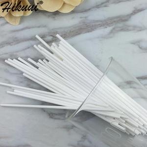 Image 3 - Lollipop Palo de plástico seguro para pastel, 100 Uds., ventosa para palos con Chocolate, azúcar, caramelo, herramienta de molde DIY, 10/15/20cm
