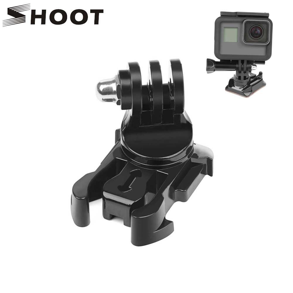 SHOOT 360 Degree Rotate Quick Release Buckle Vertical Surface Mount For GoPro Hero 8 7 5 4 Sjcam Sj4000 Xiaomi Yi 4K Eken Camera
