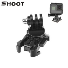 SHOOT 360 Degree Rotate Quick Release Buckle Vertical Surface Mount for GoPro Hero 8 7 5 4 Sjcam Sj4000 Xiaomi Yi 4K Eken Camera