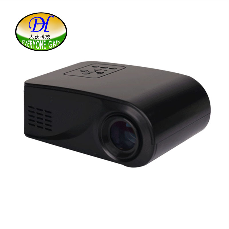 Everyone Gain LCD Household Projector 3D Support HD Home Teaching Wireless Business Portable Proyector With SD TV Beamer mini60 валик с ванночкой stayer 2 05438 18