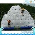 Parque aquático Flutuante Parede de Escalada Inflável Jogos De Esportes Aquáticos