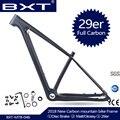 2019 китайский карбоновый mtb рама 29er горный велосипед Bicicletas 29 Запасные детали для велосипеда, углепластик рама 142*12 или 135*9 мм велосипедная Рам...