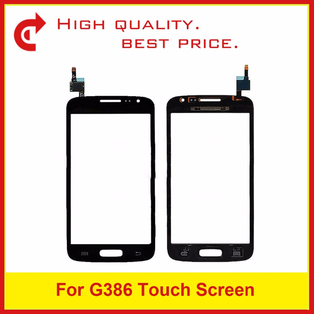 Image 2 - High Quality For Samsung Galaxy Core LTE Avant SM G386F G386 Touch Panel Screen Digitizer Sensor Outer Glass Lens +Tracking Code-in Mobile Phone Touch Panel from Cellphones & Telecommunications