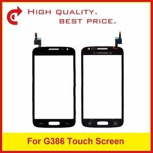 Image 2 - Yüksek Kaliteli Samsung Galaxy Çekirdek LTE Avant SM G386F G386 Dokunmatik Panel Ekran Sayısallaştırıcı Sensörü Dış Cam Lens Takip kod
