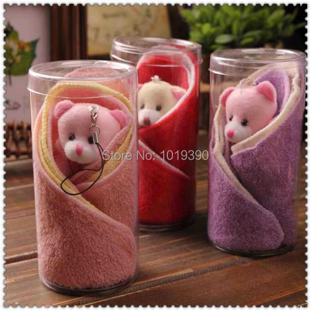 Wholesale Creative Gifts Children Birthday Cake Towel Gifts