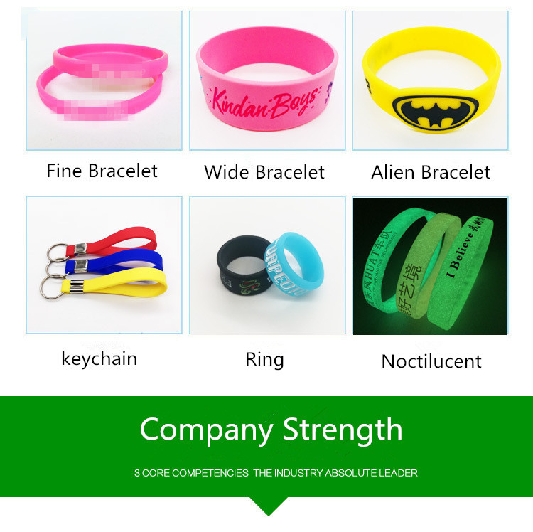 Welcome Customize Silicone Bracelet Your Own Design Or Business Logo Wristband Create Fashion Jewelry Women Men Gift In Hologram Bracelets From