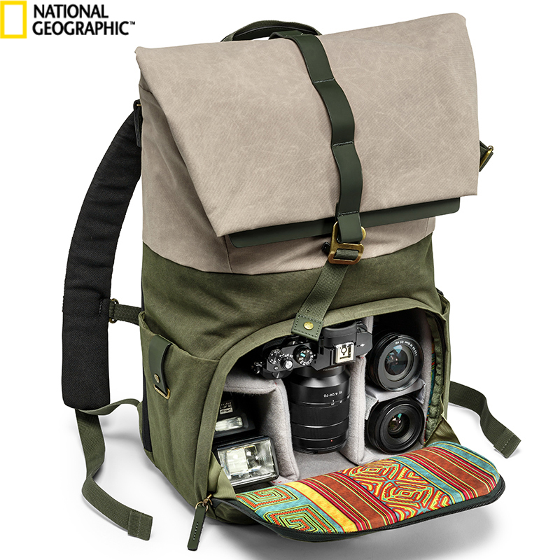 New Pattern NATIONAL GEOGRAPHIC NG RF 5350 Camera Bag Backpacks Video Photo Bags for Camera Backpacks Bags national geographic ng au5350 leather camera bag backpacks large capacity laptop carry bag for digital video camera travel bag