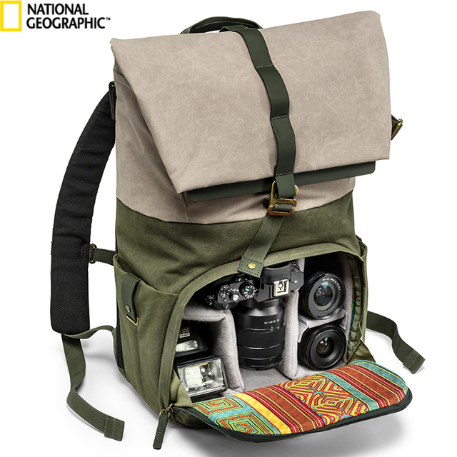 New Pattern National Geographic Ng Rf 5350 Camera Bag Backpacks Video Photo Bags For