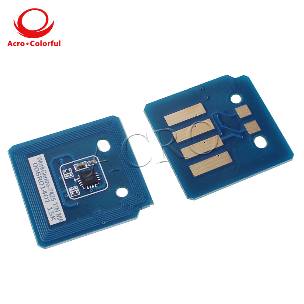 006R01391 006R01394 006R01393 006R01392 Toner chip for Xerox WorkCentre 7425 7428 7435 Metered laser printer copier cartridge in Cartridge Chip from Computer Office