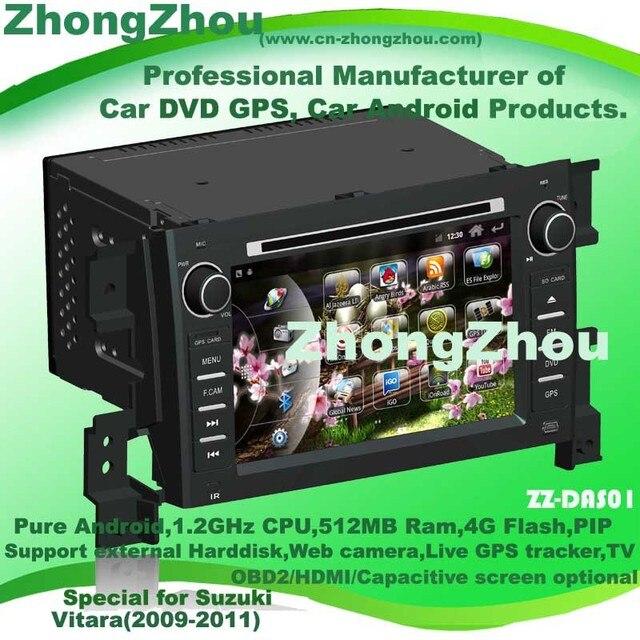 1024*600 Capacitive screen optional! Suzuki Grand Vitara android Suzuki Vitara android Suzuki Vitara car DVD GPS Free Wifi&ship
