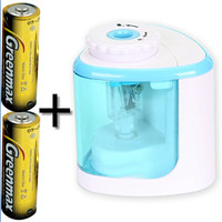 Electric Pencil Sharpener Battery Powered Batteries Included High Speed Automatic For Home Office School Classroom Kids