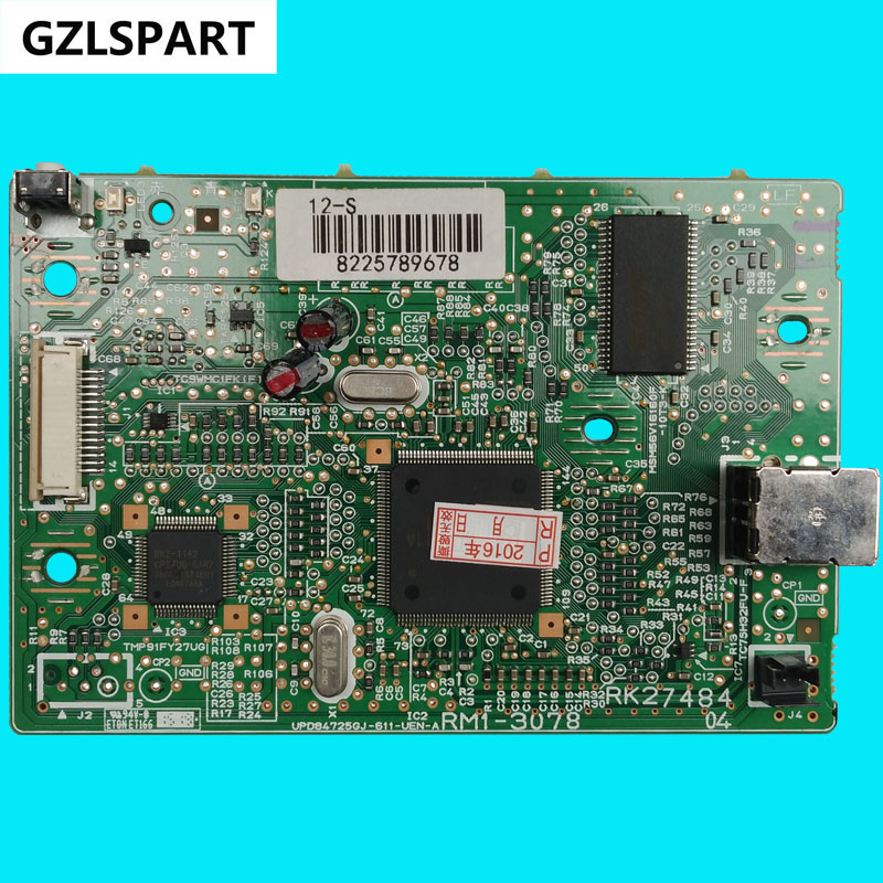 FORMATTER PCA ASSY Formatter Board logic Main Board MainBoard for Canon LBP2900 LBP 2900 RM1-3126 RM1-3078
