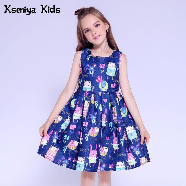 5a593325ca58 Kseniya Kids Dresses For Girls Clothes Summer Winter Dress Princess Girl  Birthday Cute Children Evening Dresses