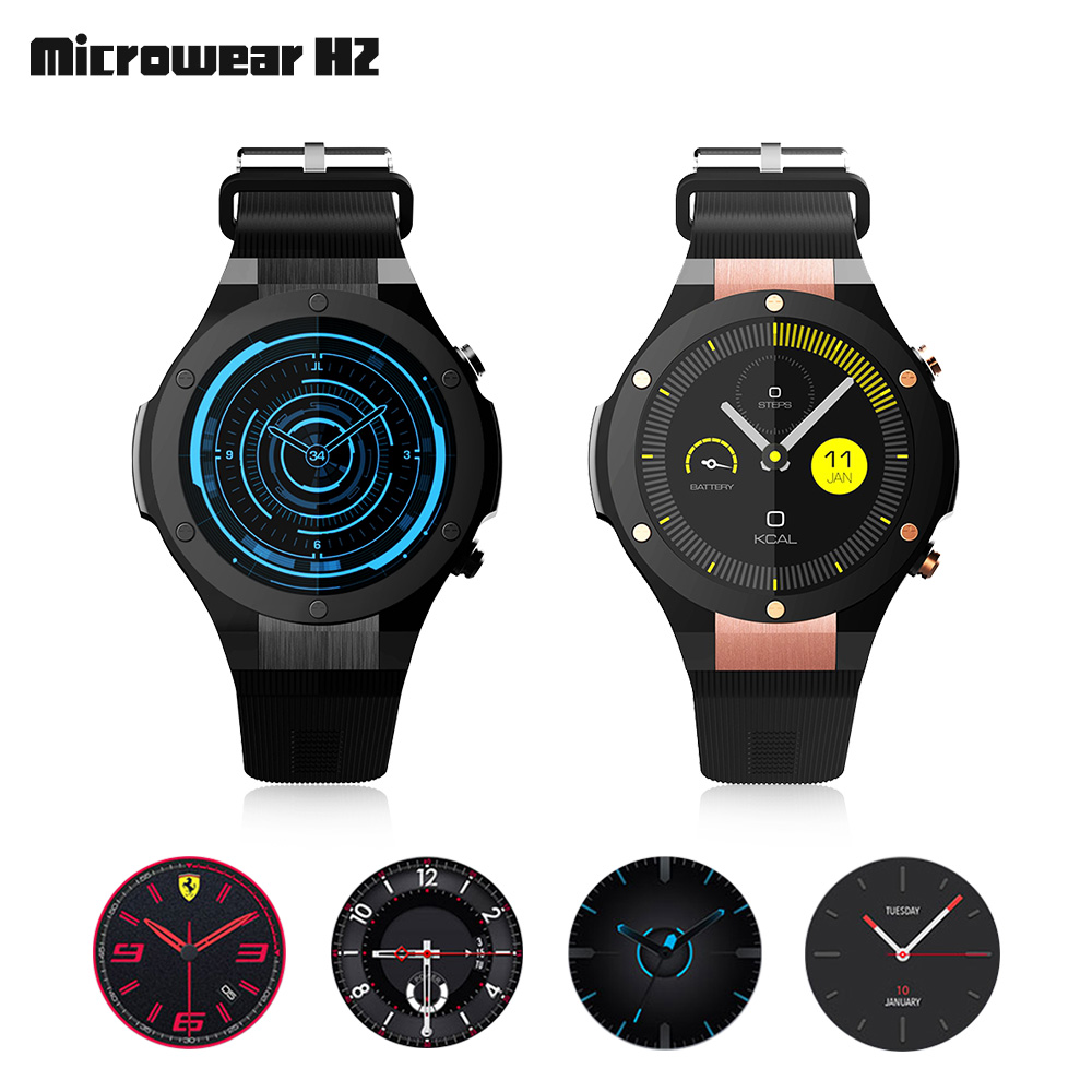 9d8e3db36 Microwear H2 Bluetooth Smart Watch Phone Android Wear GPS 16GB ROM Wearable  Devices Smartwach Waterproof Smartwatch With Camera-in Smart Watches from  ...