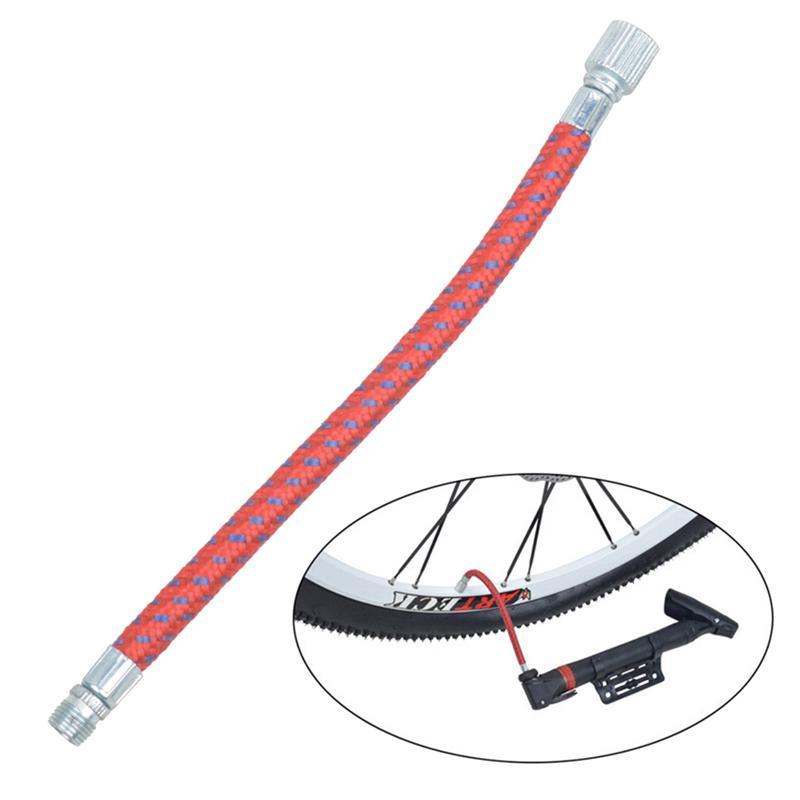 Fahrradpumpe-Verlängerungsrohr Inflator Verlängerungsschlauch Luftpumpe