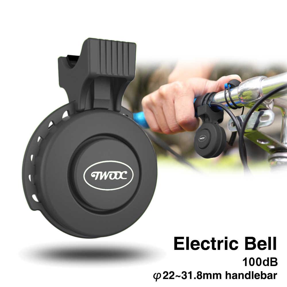 Queta timbre de bicicleta recargable por USB para MTB//bicicleta de carrera//BMX Timbre para bicicleta ajustable volumen el/éctrico