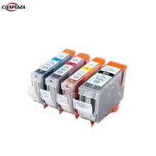Cissplaza 4 цвета совместимый чернильный картридж для принтера Canon IX4000 IX5000 IP3300 IP3500 MP510 MP520 MP520X MX700 PGI5 CLI8