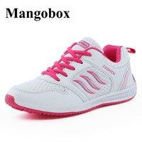 Mangobox работает кроссовки девушки серый красный женщин s athletic обувь весна лето женщины кроссовки кроссовки горячей продажи оригинальные крос...