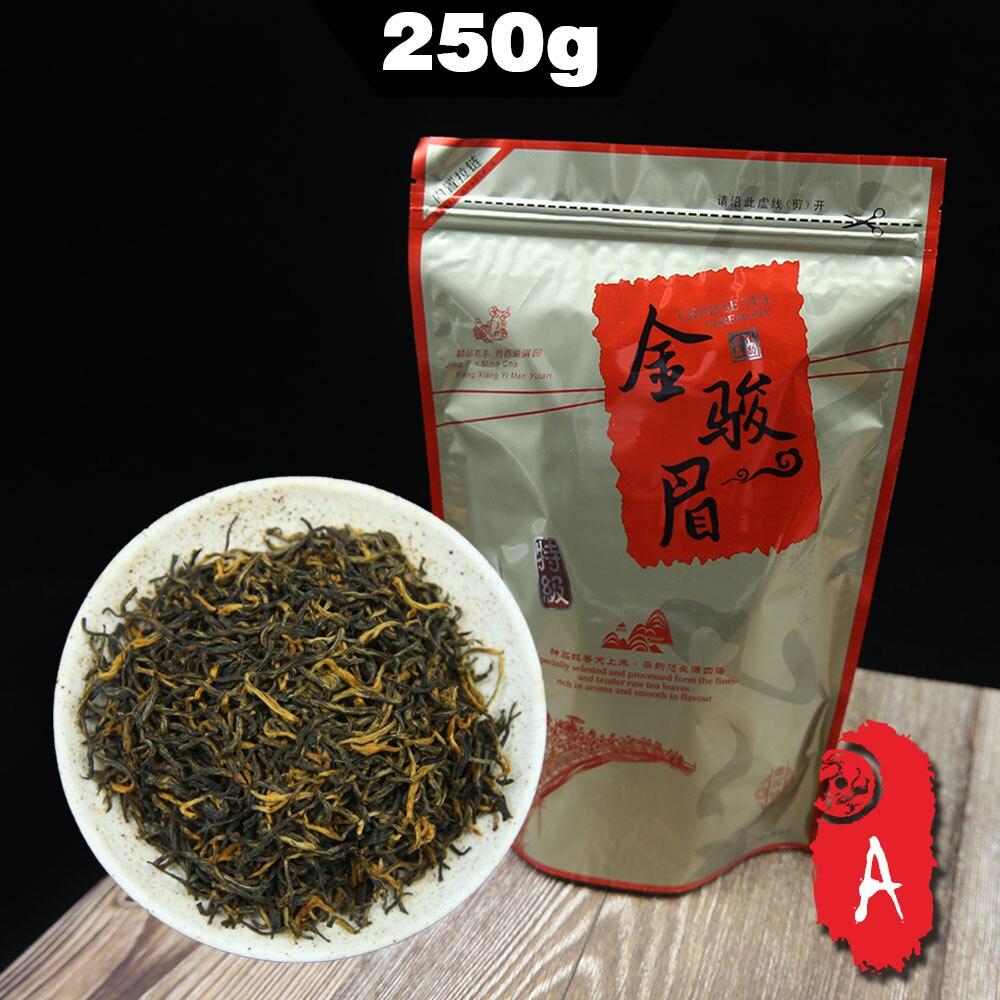2020 de té chino Jin Jun Mei té Wuyi té negro brotes de oro de primavera las primas de 250g