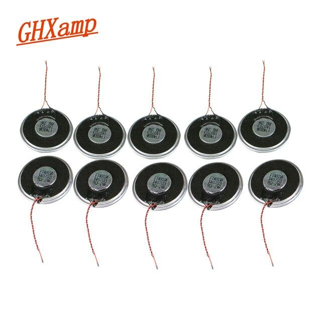 Ghxamp 1.5 inç 40mm Kablosu Ile Hoparlörler Birimi 8ohm 2 W Taşınabilir Hoparlör Diy 10 PCS