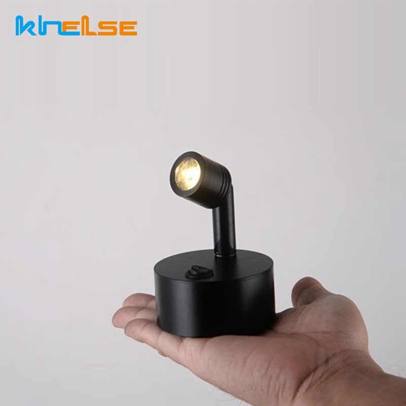 Mini 3w Led Spotlights Aaa Battery